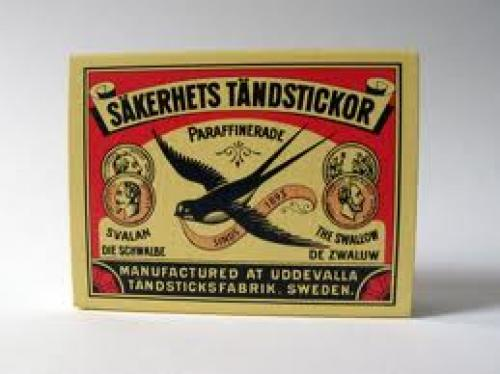 Matchboxes; Sweden