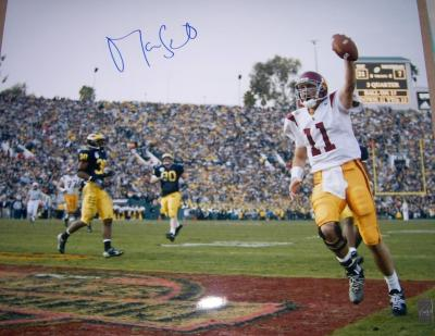 Matt Leinart autographed USC 2003 National Championship 16x20 poster size photo