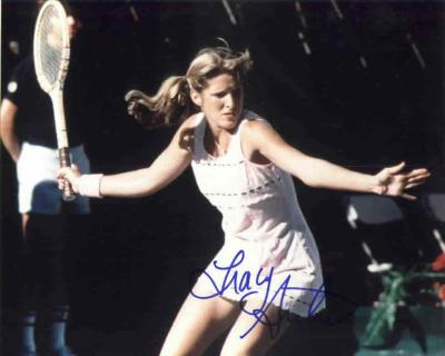 Tracy Austin autographed 8x10 tennis photo