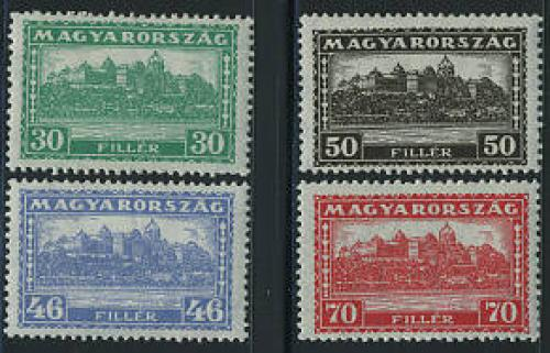 Definitives 4v; Year: 1927