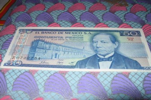 MEXICO-50-1981 pesos-1969/82-unc