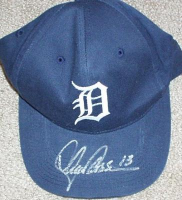 Lance Parrish autographed Detroit Tigers cap