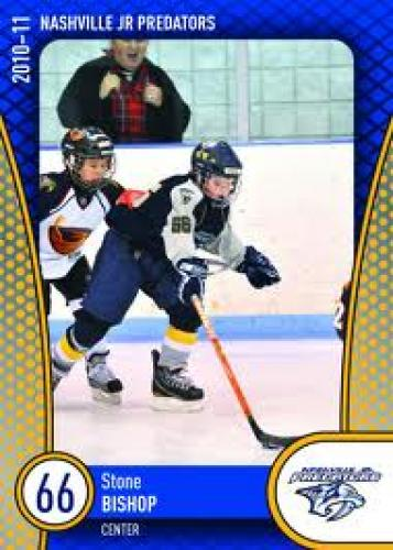 Nashville; Stone Bishop's Hockey Card