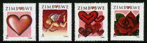 Valentines day 4v; Year: 2008