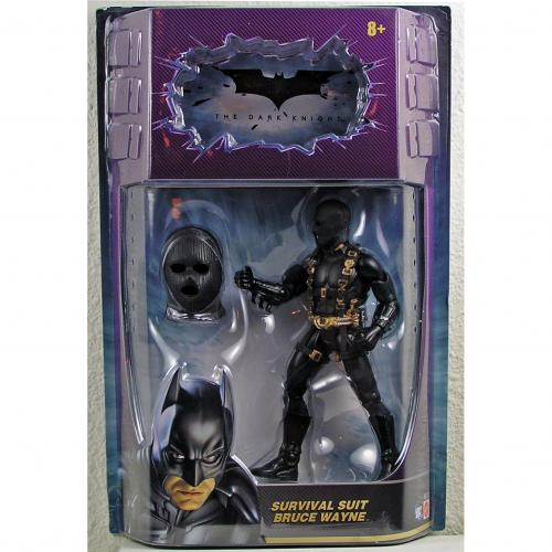 DARK KNIGHT BATMAN SURVIVAL SUIT BRUCE WAYNE ACTION FIGURE