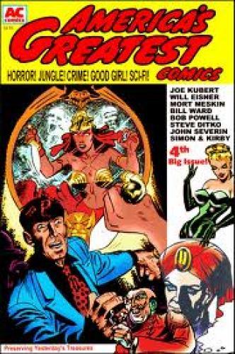 Comics; AMERICA'S GREATEST COMICS #4