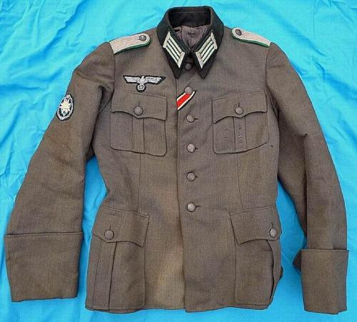 Original German Gebirgsjager/Heer Uniform