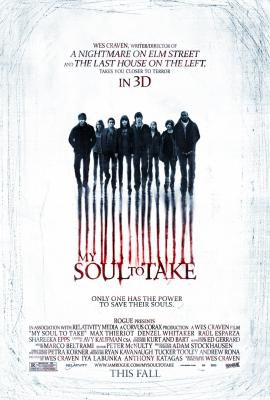 My Soul to Take mini movie poster