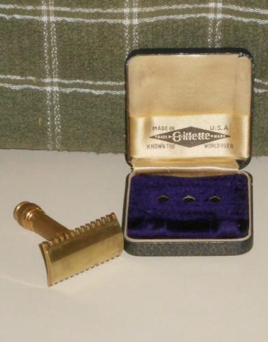 1920 Gillette Milady Decollete Parisienne w Blades