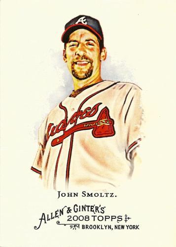 2008 Topps Allen and Ginter #274 ~ John Smoltz