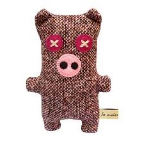 Toys; Ms Oink by La Maison De Lola stuffed Toy Pig