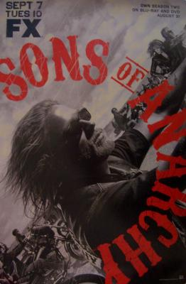 Sons of Anarchy 2010 Comic-Con FOX promo poster