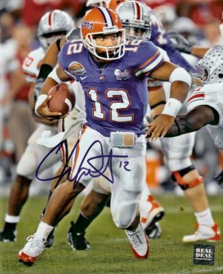 Chris Leak autographed Florida 2006 National Championship 8x10 photo