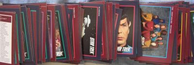 Star Trek 25th Anniversary 1991 card set (Impel)