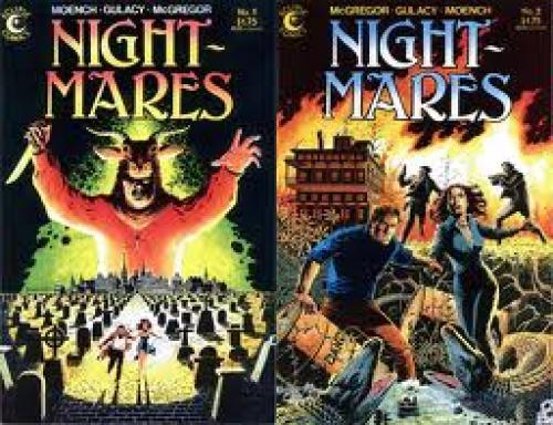 Comics; Horror Comic Book Reviews! Nightmares (1985 Eclipse Comics)