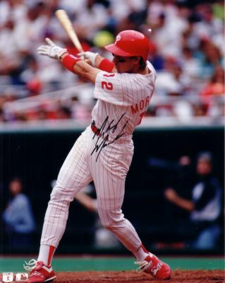Mickey Morandini autographed 8x10 Philadelphia Phillies photo