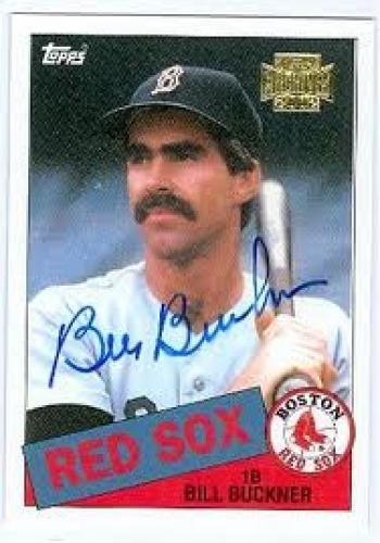 Billy Buckner Baseball Card; Red Sox