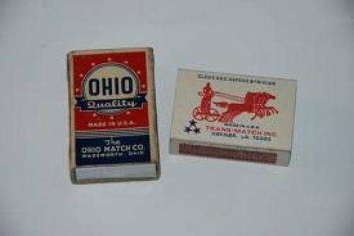 MATCHBOXES AND LABELS COLLECTION: U S A