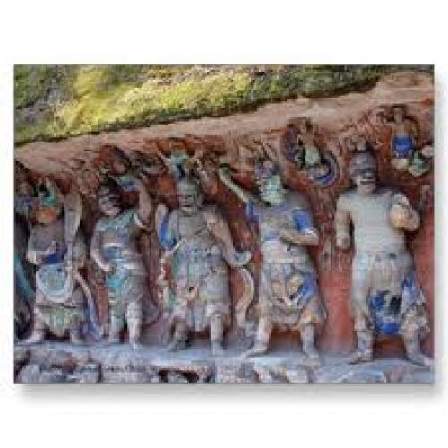 Buddhist Cave of Dazu, China Postcards