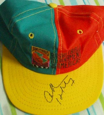 Charles Barkley autographed 1992 Tournament of the Americas cap