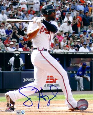 Jason Heyward autographed Atlanta Braves 8x10 photo (MLB authenticated)