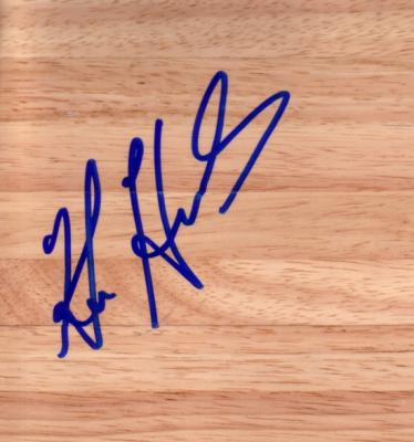 Ken Howard autographed 6x6 hardwood floor