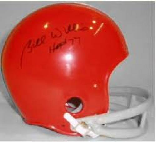 Bill Willis Cleveland Browns Autographed Throwback Mini Helmet