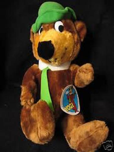 Toys; Yogi Bear stuffed toy, 1980.