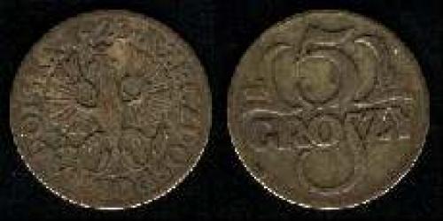 5 groszy 1923 (km y#10)