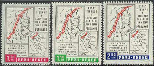 Border treaty 3v; Year: 1962