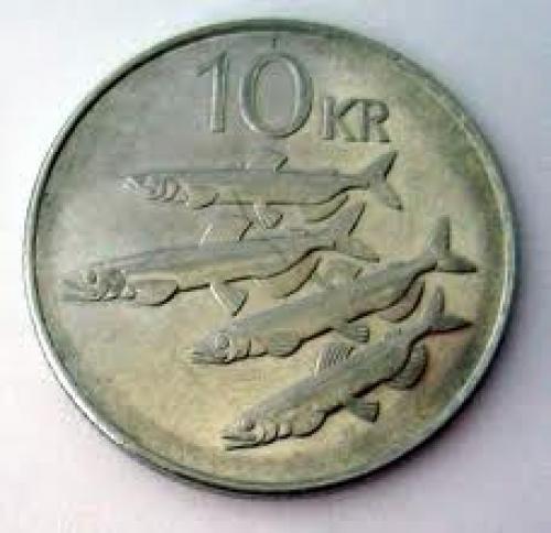 Coins; Iceland_krona_coins_10krona