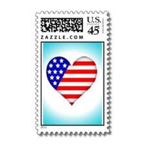 Stamps;  Love USA (Stamps) by SophiaDeer