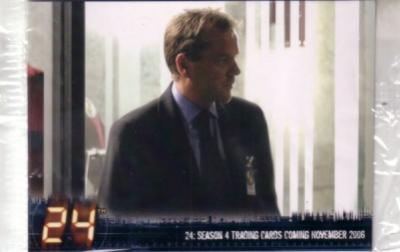 24 Season 4 exclusive album or binder promo card P3