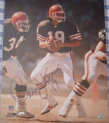 Bernie Kosar autographed Cleveland Browns 16x20 poster size photo