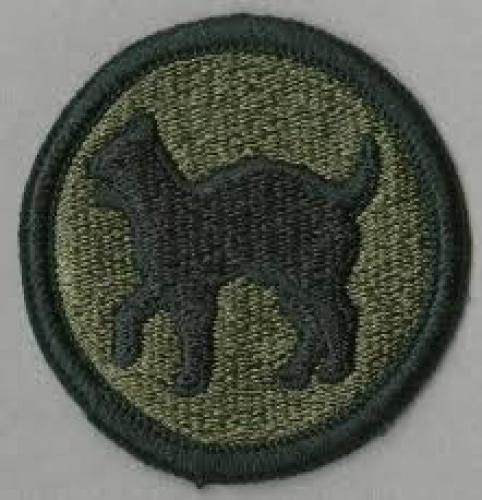 Patches; 81st Infantry Division Wildcat Shoulder Patch
