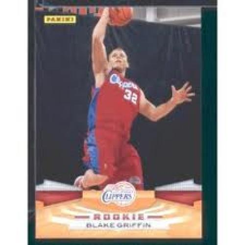 Basketball Card; 2009 /10 Panini NBA Basketball Card # 351 Blake Griffin; Clippers