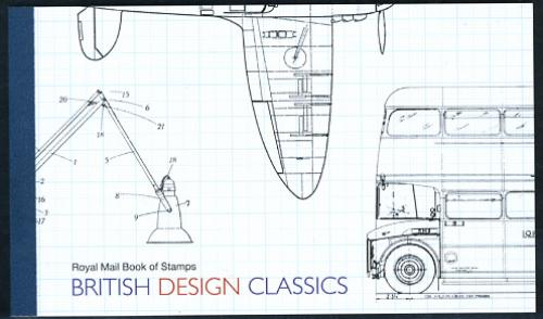 British design classics prestige booklet