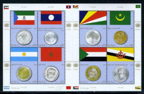 Flags &amp; coins 8v m/s