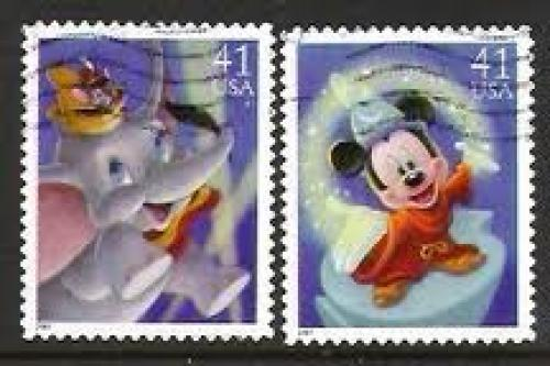 Stamps US; stamp_usa_disney; 2007