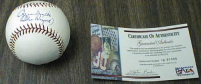 Ozzie Smith autographed NL baseball inscribed The Wizard PSA/DNA