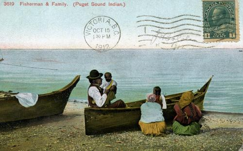 CANADA-Puget Sound-native family