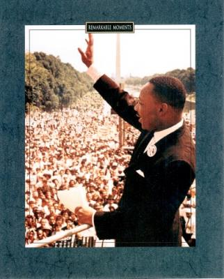 1963 Martin Luther King I Have A Dream speech 8x10 photo