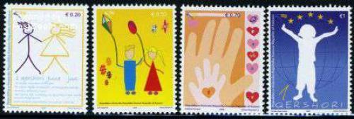 Children rights 4v; Year: 2009