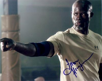 Djimon Hounsou autographed Never Back Down 8x10 photo