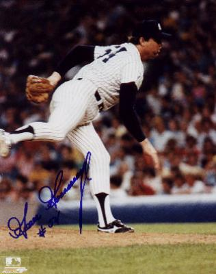 Goose Gossage autographed 8x10 New York Yankees photo