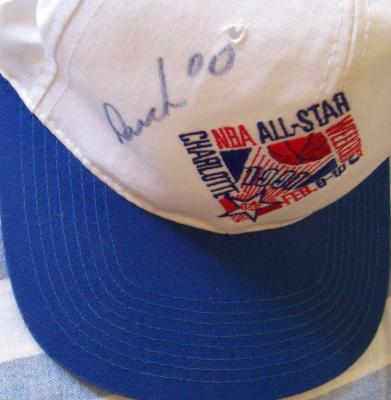 Kevin Duckworth (Blazers) autographed 1991 NBA All-Star cap