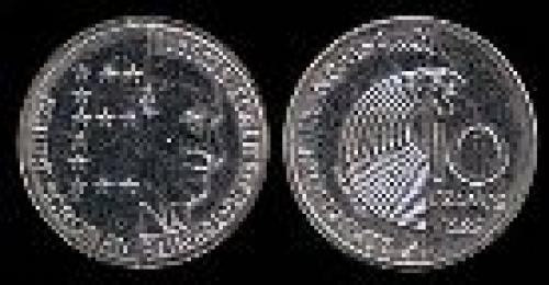 10 francs; Year: 1986;(km 958); Robert Schuman
