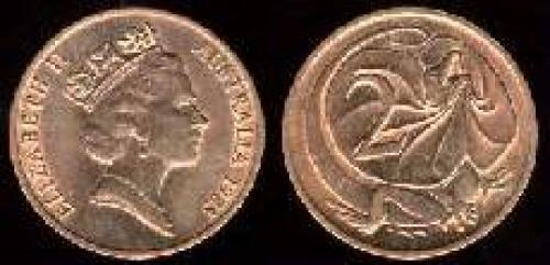 2 cents; Year: 1985-1991; (km 79)