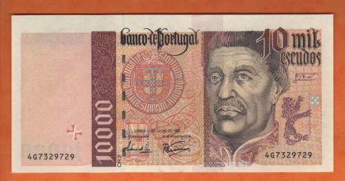 Portugal 10.000esc 1997