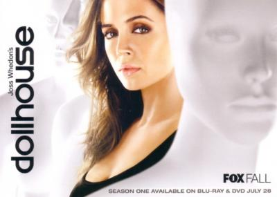 Dollhouse 2009 Comic-Con Fox 5x7 promo card (Eliza Dushku)